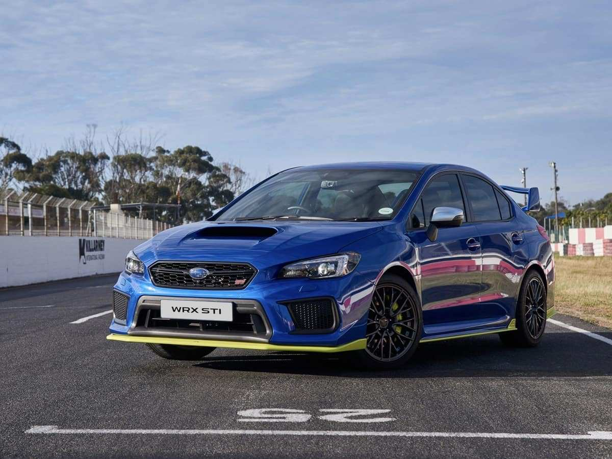 60 All New 2019 Wrx Sti Hyperblue Performance And New Engine