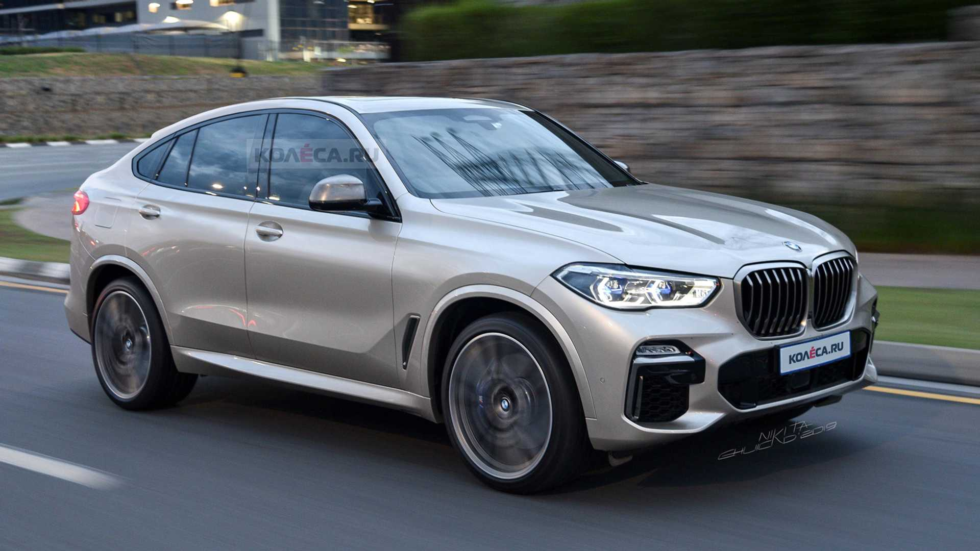 60 All New 2020 BMW X6 Engine