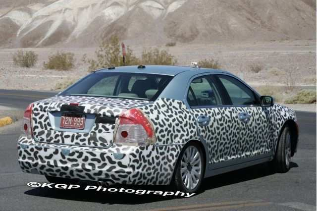 60 All New Spy Shots Ford Fusion Reviews