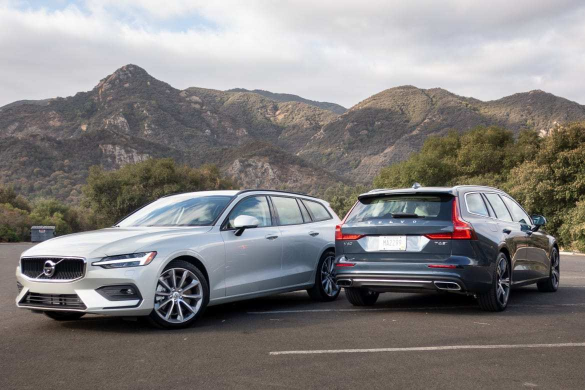 60 All New Volvo V60 2019 Dimensions Release Date And Concept