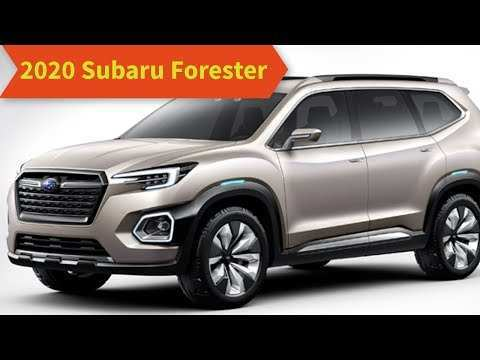 60 Best 2020 Subaru Forester Redesign Redesign