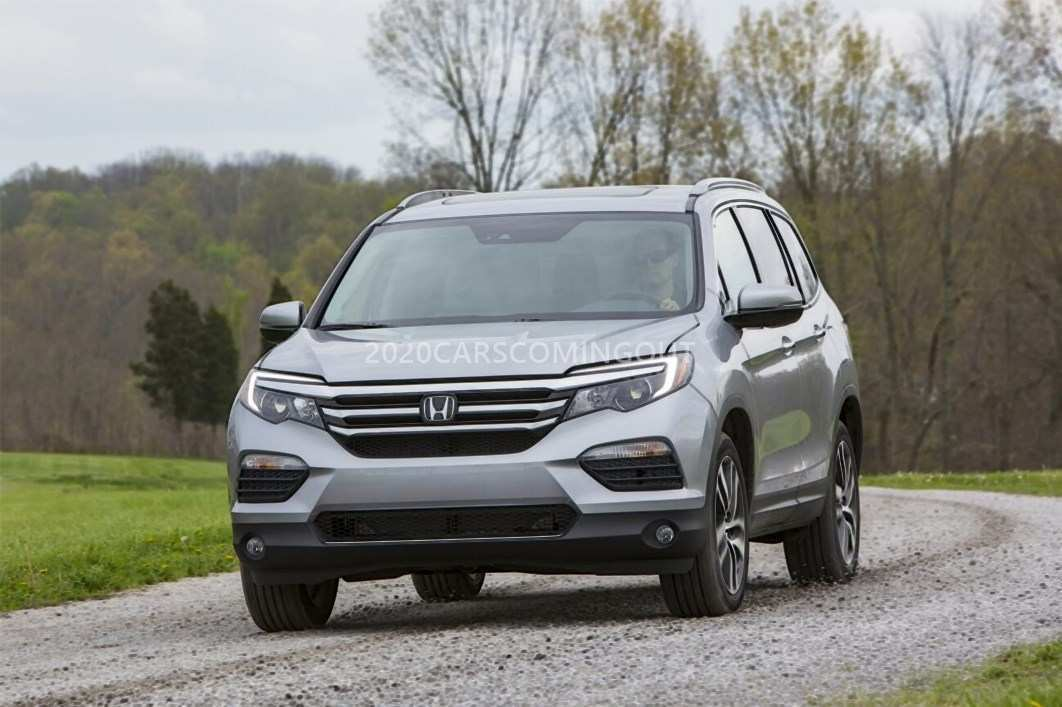 60 New 2020 Honda Pilot Spy Photos Redesign