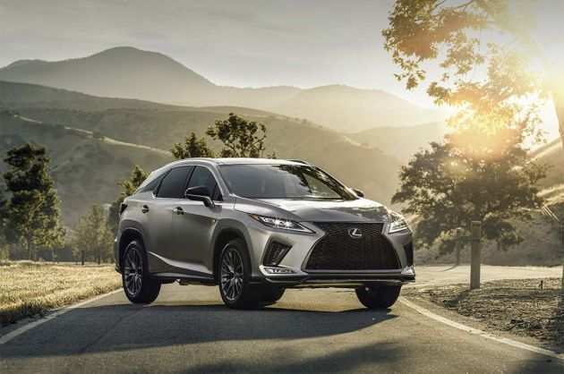 60 New 2020 Lexus RX 350 Redesign And Concept