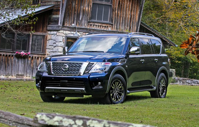 60 New 2020 Nissan Armada Spy Shoot
