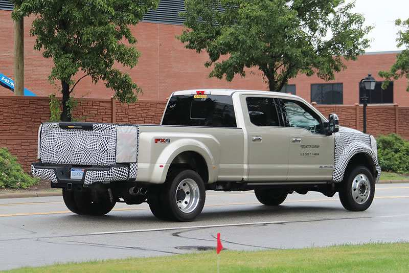 60 New Spy Shots Ford F350 Diesel Speed Test
