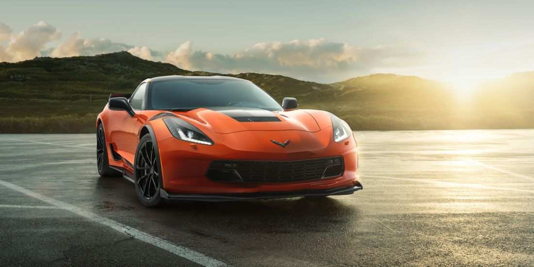 60 The 2019 Corvette Z07 Speed Test