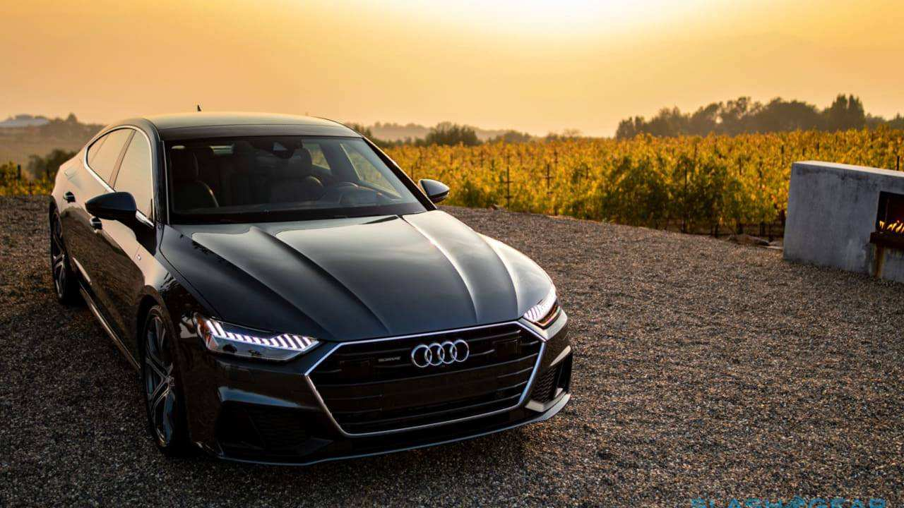 60 The 2019 The Audi A6 Research New