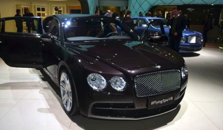 60 The 2020 Bentley Flying Spur Speed Test