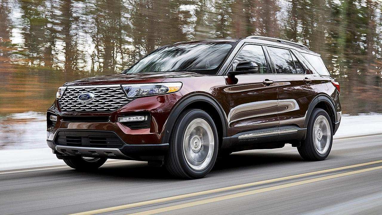 60 The 2020 Ford Taurus History