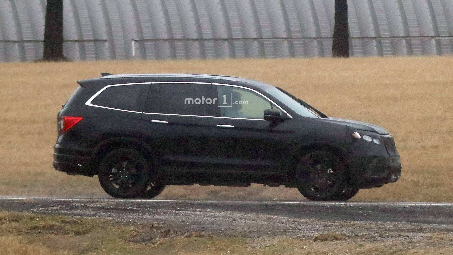 60 The Best 2019 Honda Pilot Spy Photos Performance