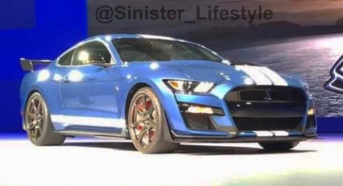 60 The Best 2020 The Spy Shots Ford Mustang Svt Gt 500 Concept