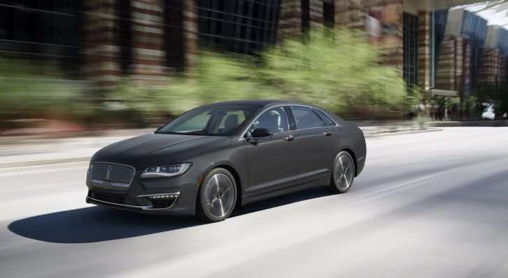 60 The Best Spy Shots Lincoln Mkz Sedan New Concept