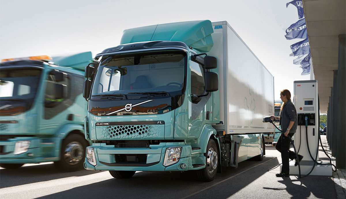 60 The Volvo Electric Truck 2019 Style