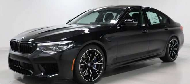 61 A 2019 BMW M5 Get New Engine System Specs