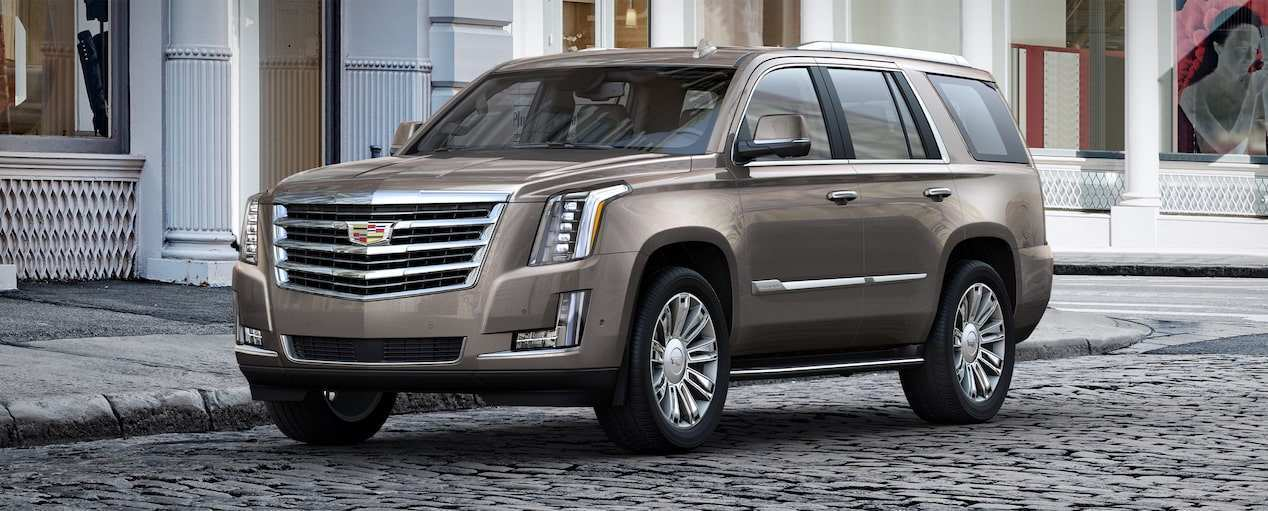 61 A 2019 Cadillac Escalade Luxury Suv Performance