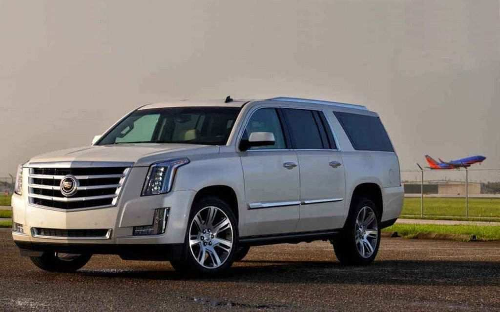 61 A 2019 Cadillac Escalade V Ext Esv Spy Shoot