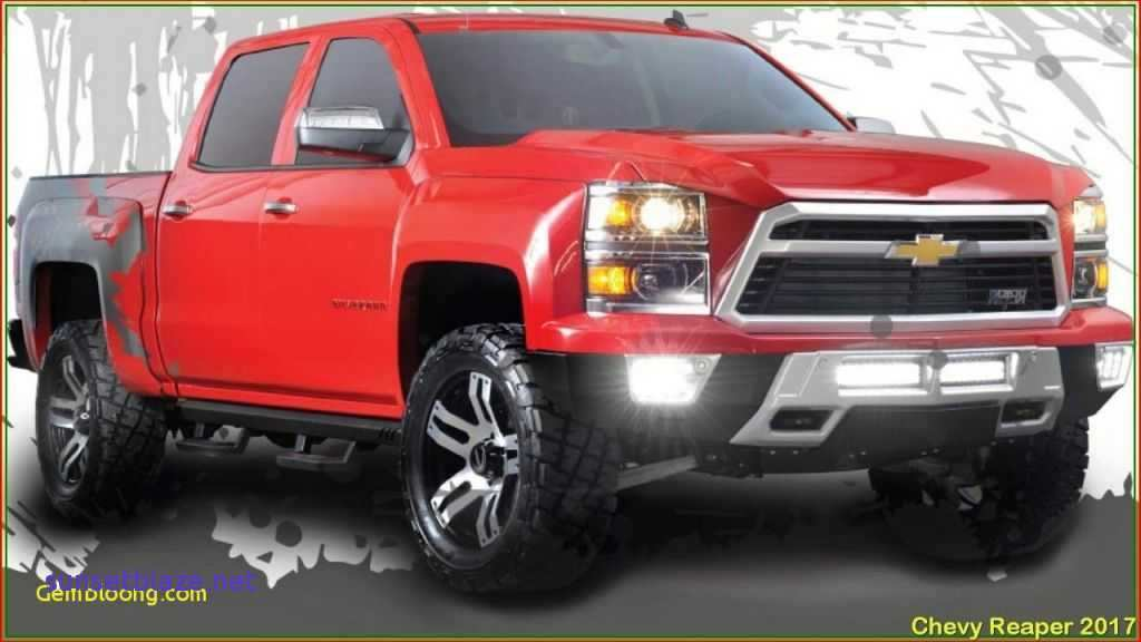 61 A 2019 Chevy Reaper Redesign And Review
