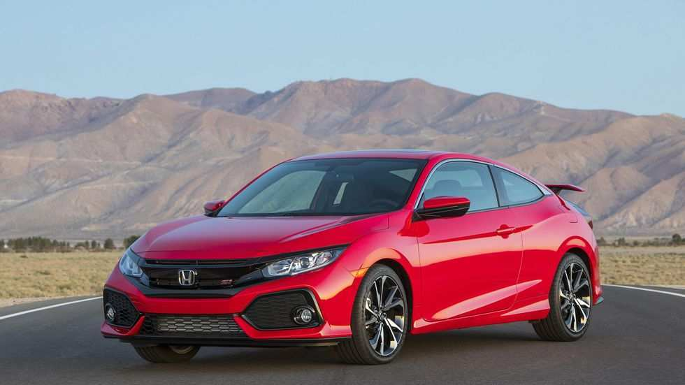 61 A 2019 Honda Civic Si Sedan Speed Test