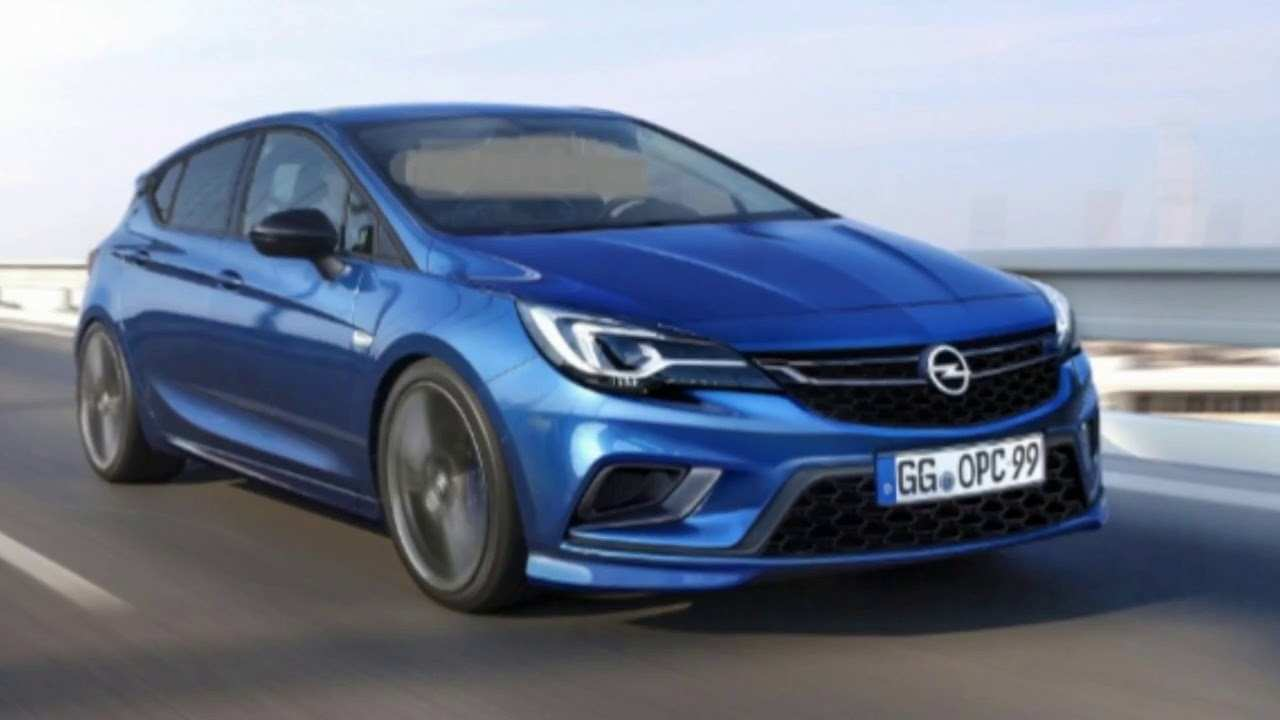 61 All New 2019 Opel Astra New Concept