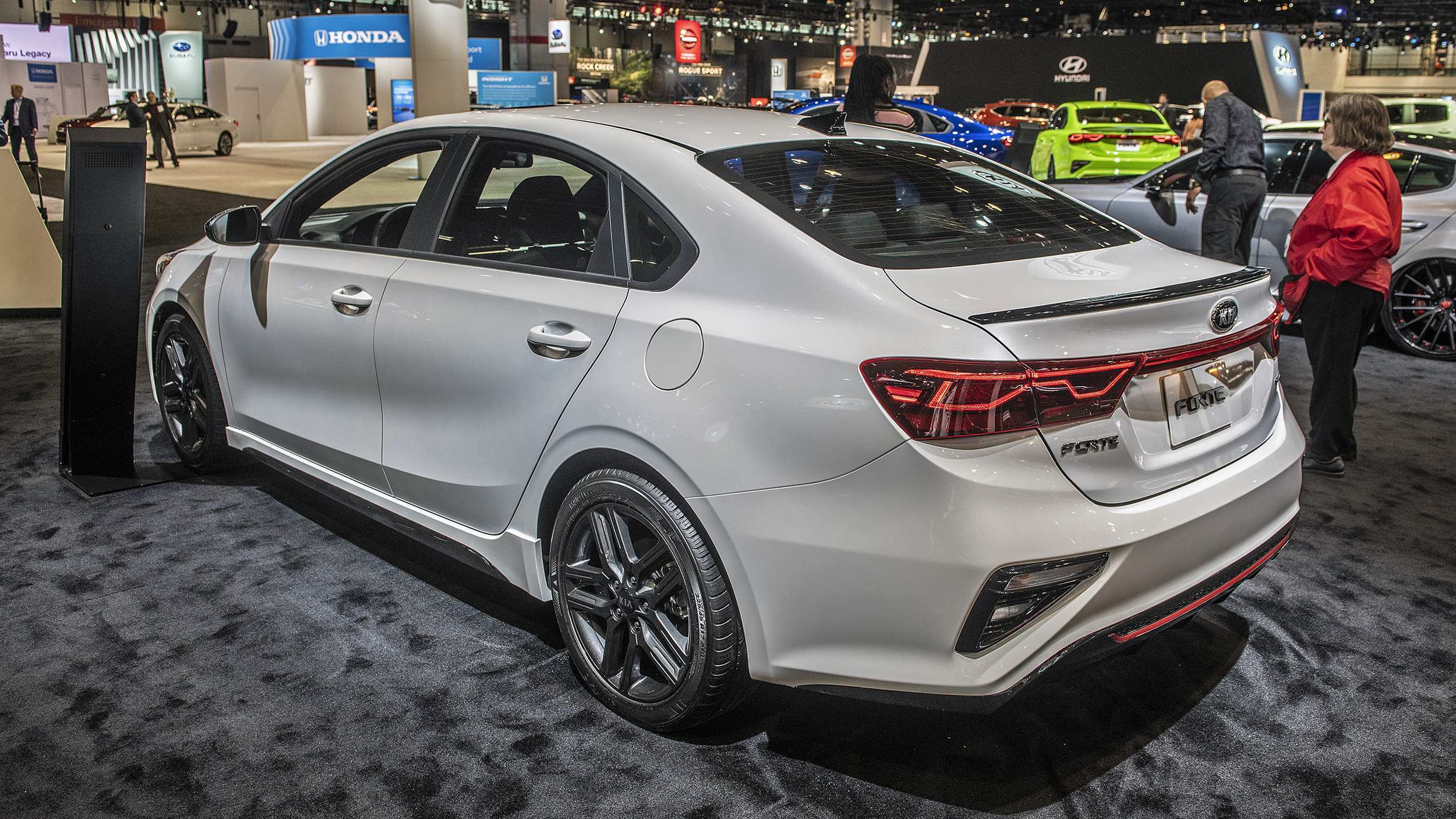 61 All New 2020 Kia Forte Spy Shoot