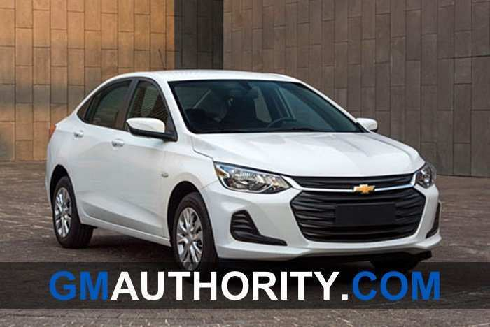 61 All New Chevrolet Prisma 2020 China Spy Shoot