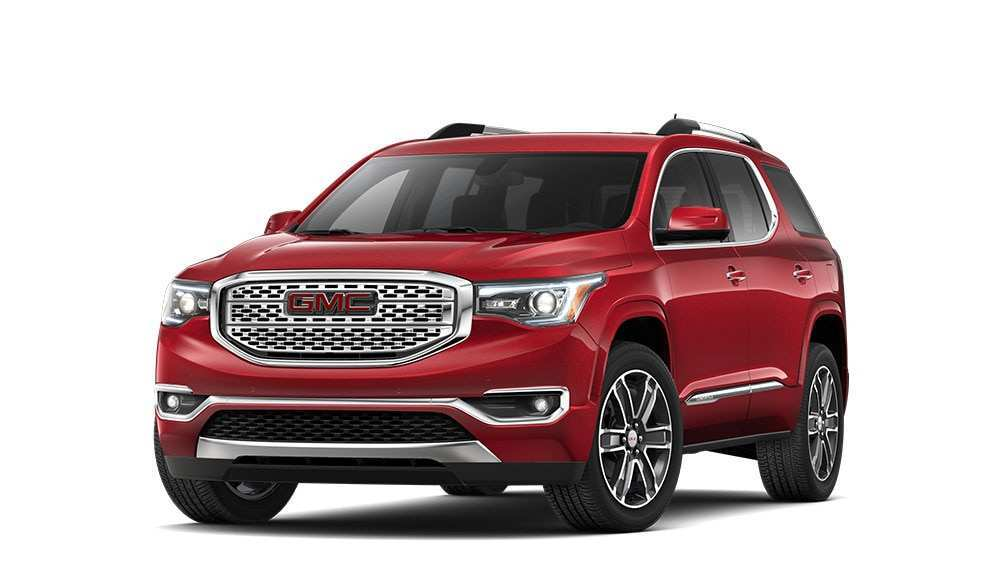 61 Best 2019 Gmc Acadia Denali Spy Shoot