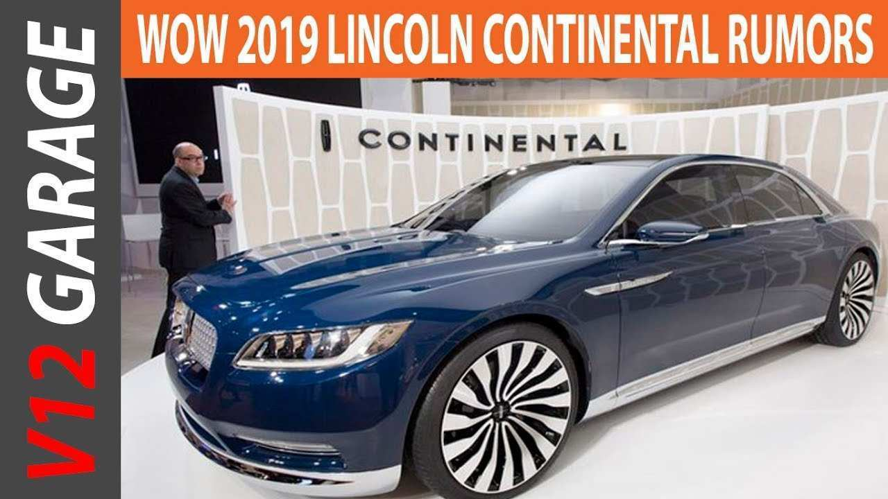 61 Best 2019 The Lincoln Continental Specs