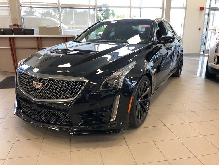 61 The 2019 Cadillac Cts V First Drive