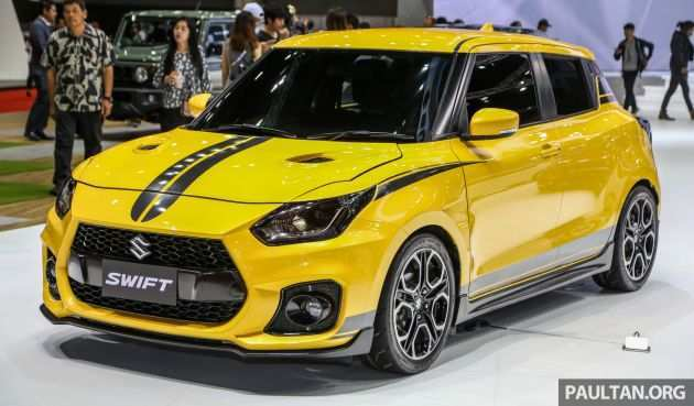 61 The 2019 New Suzuki Swift Sport New Concept