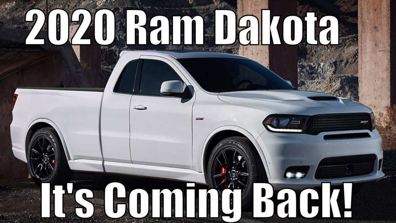 61 The 2020 Dodge Dakota Concept
