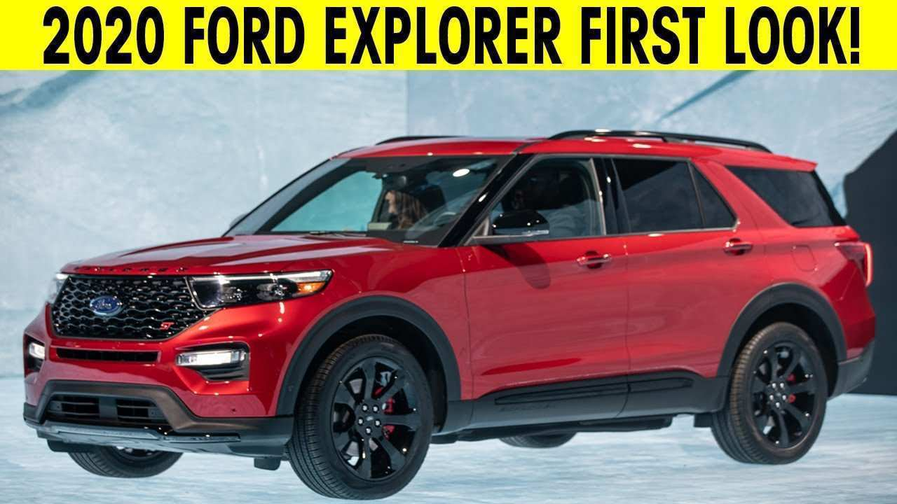 61 The 2020 Ford Explorer Sports New Concept
