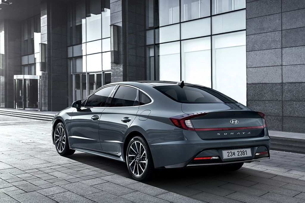 61 The 2020 Hyundai Sonata Hybrid Sport New Concept