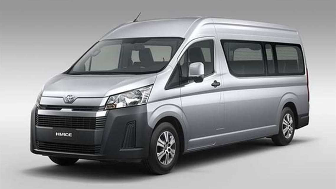 61 The 2020 Toyota Hiace Research New