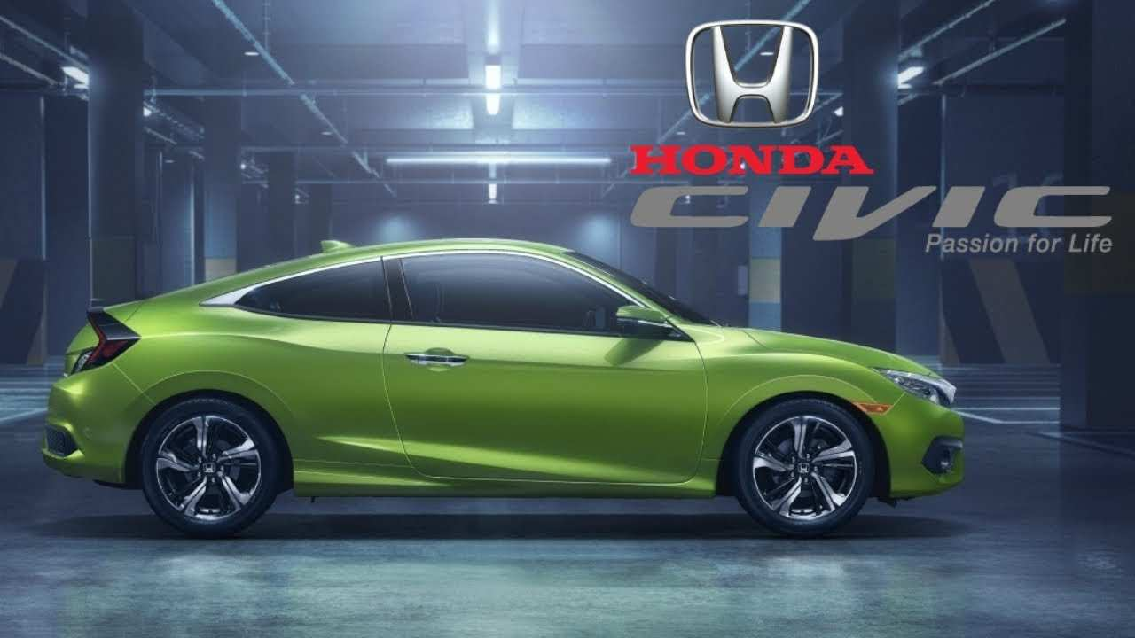 61 The Best 2019 Honda Civic Coupe Release Date And Concept