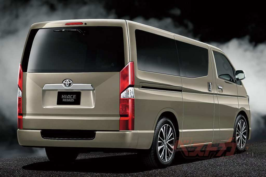 61 The Best 2020 Toyota Hiace Interior