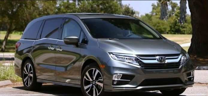 61 The Best Honda Odyssey 2020 Release Date Model