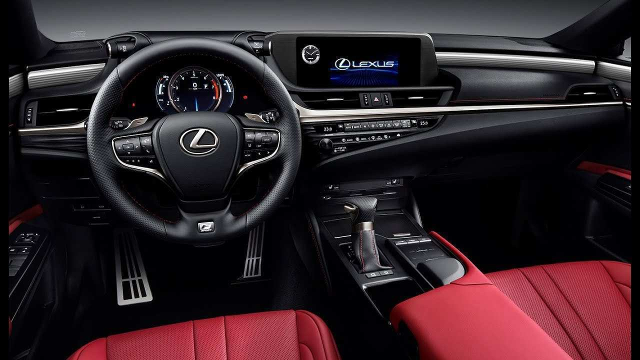 61 The Best Lexus 2019 Es Interior New Model And Performance