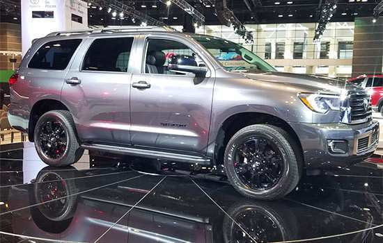 61 The Best Toyota Sequoia 2019 Redesign Exterior And Interior