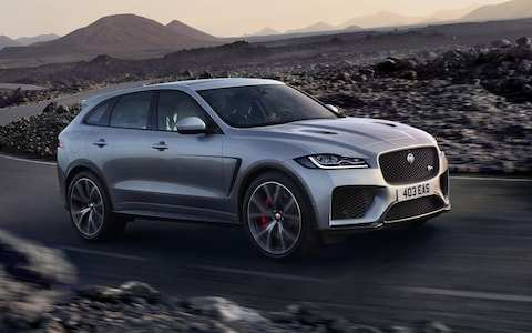 61 The Jaguar Suv 2019 Exterior