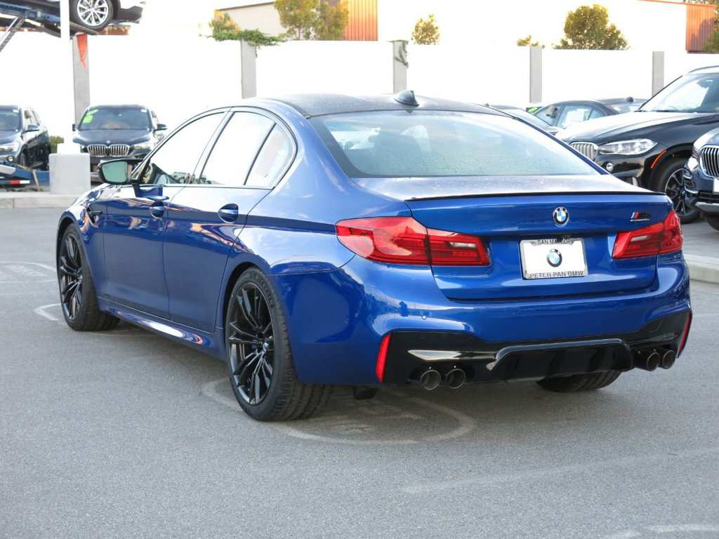 62 A 2019 BMW M5 Get New Engine System New Concept