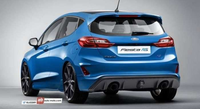 62 A 2019 Ford Fiesta St Rs Spy Shoot