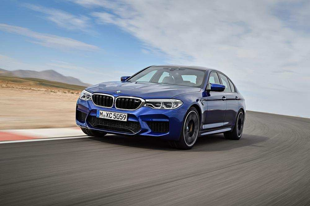 62 A 2020 BMW M5 Xdrive Awd Interior