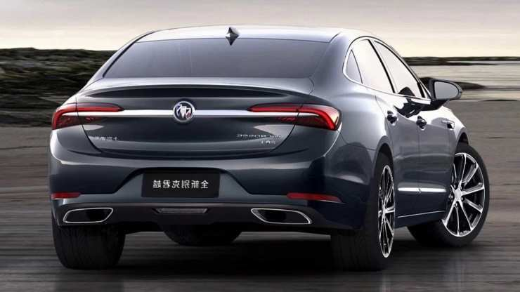 62 A 2020 Buick LaCrosse Exterior And Interior