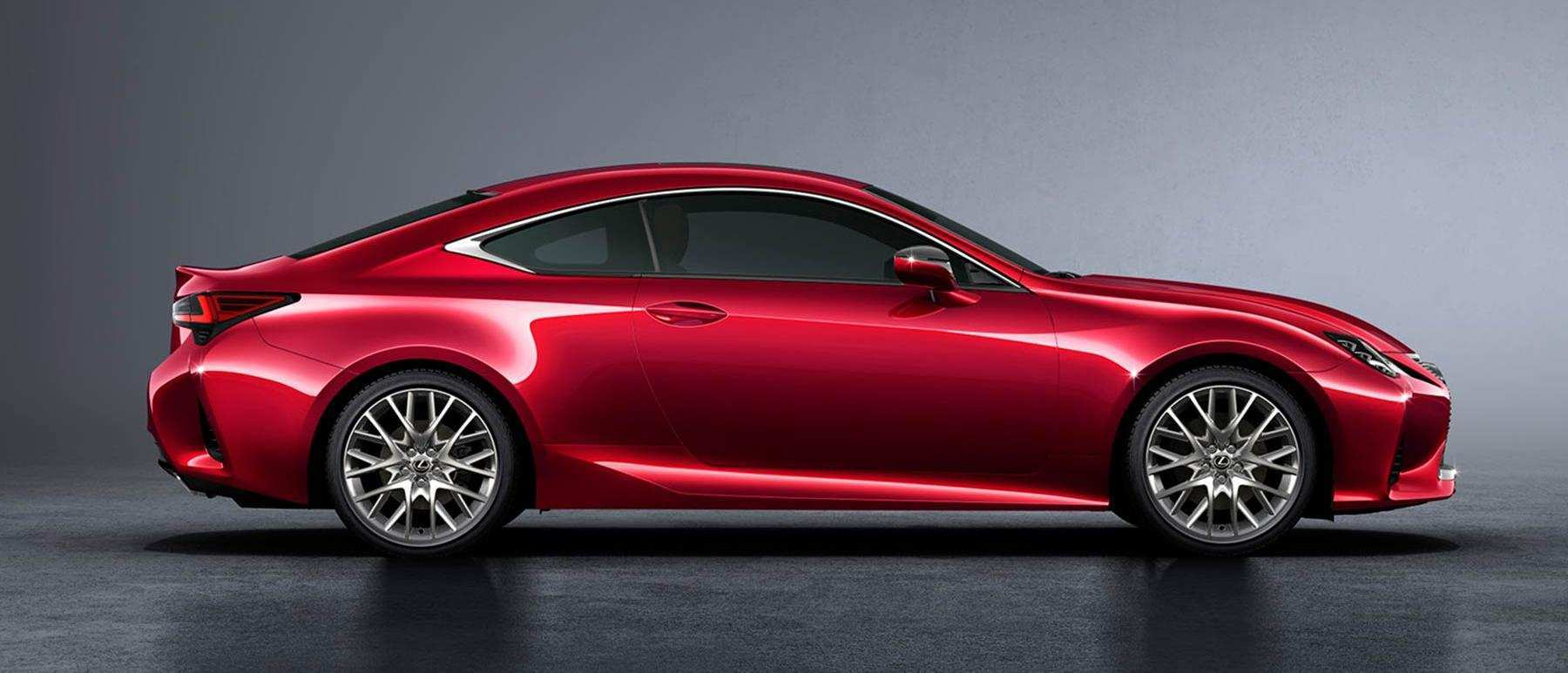 62 A Lexus 2019 Coupe Spy Shoot
