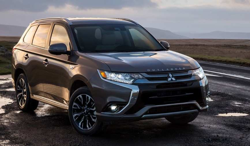 62 A Mitsubishi Phev 2020 Spy Shoot