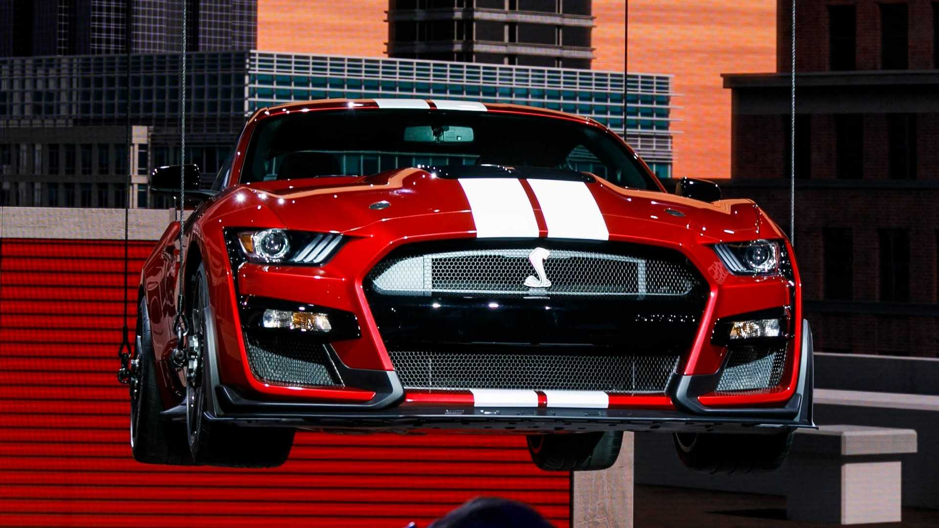 62 All New 2020 The Spy Shots Ford Mustang Svt Gt 500 First Drive