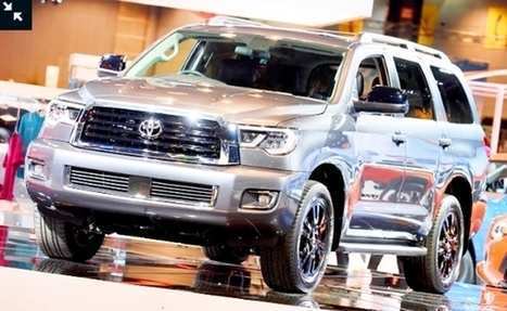 62 Best 2019 Toyota Sequoia Redesign Release Date And Concept