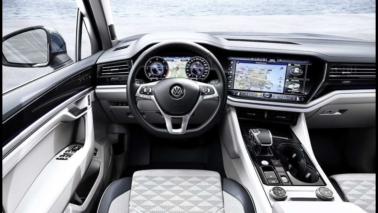 62 Best Vw Touareg 2019 Interior Picture