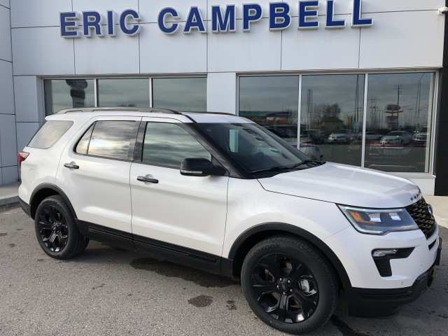 62 New 2019 Ford Explorer Sports Interior