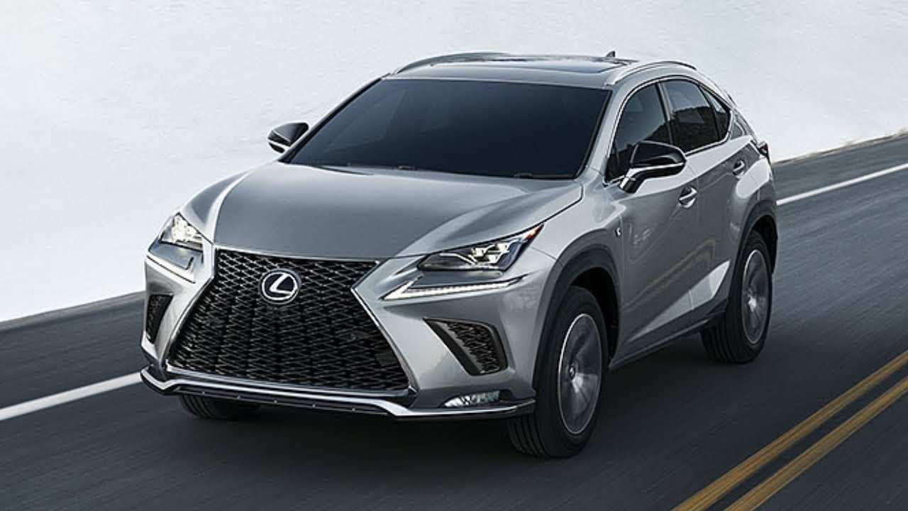 62 New 2020 Lexus Nx Concept And Review